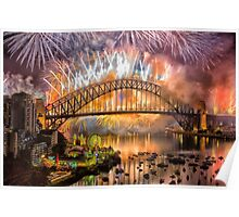 What a Blast - Sydney New Years Day 2015 # 3 Poster