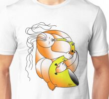 Saxofon in D Major Unisex T-Shirt