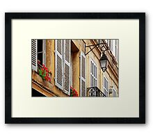 A house in Aix-en-Provence Framed Print