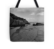Anagry Beach, Co Donegal B/W Tote Bag