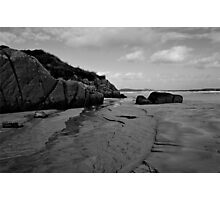 Anagry Beach, Co Donegal B/W Photographic Print