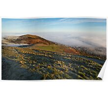 A Foggy Winter's Day in Malvern Poster