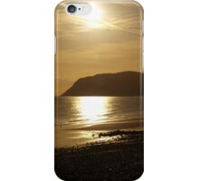 Sunrise over Llandudno iPhone Case/Skin