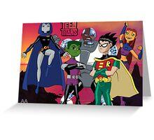 Teen Titans Go! Greeting Card