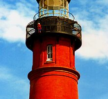 Ponce Inlet Lighthouse 1994 by Harlan Mayor