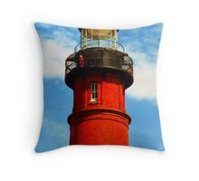 Ponce Inlet Lighthouse 1994 Throw Pillow