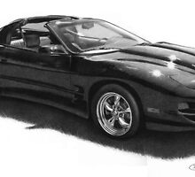 Car Drawing by golfiscool