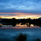 Sunset Reflections 2 by Faith Barker Photography