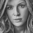 Kate Beckinsale - Pencil Drawing by golfiscool