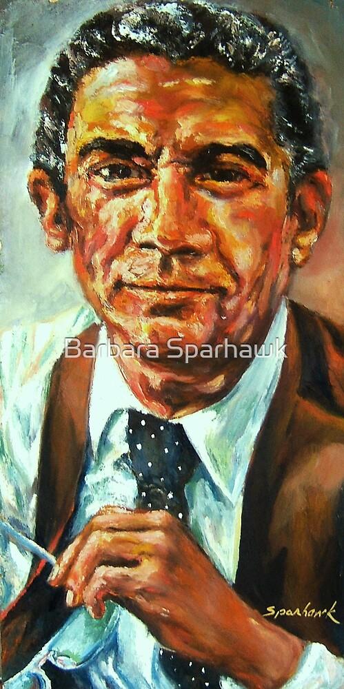 Portrait of Chris Borgen by Barbara Sparhawk