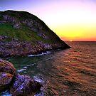 Angel Bay sunset by Peter Bellamy