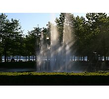 sun rays slicing the water!  Photographic Print