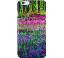 Meadow In Pink And Violet iPhone Case/Skin