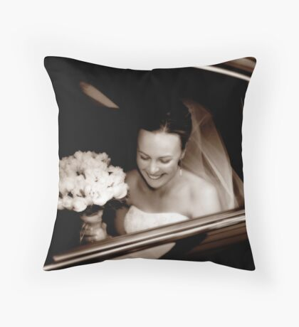 Just A Moment Throw Pillow