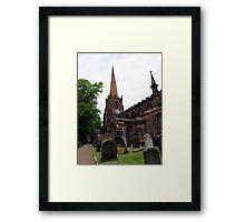 Aston Parish Church Framed Print