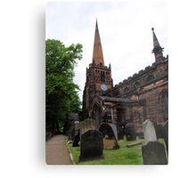Aston Parish Church Metal Print