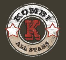 Volkswagen Kombi Tee shirt - Kombi All Stars by KombiNation