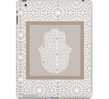 Hamsa in morrocan pattern iPad Case/Skin