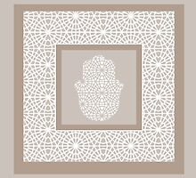 Hamsa in morrocan pattern by Heaven7