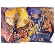 Jazz Miles Davis ELECTRIC 2 Poster