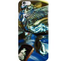 Plymouth hood ornament iPhone Case/Skin