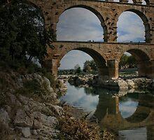 The Pont du Gard by Murray Swift