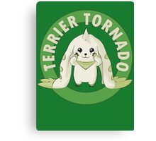 Terrier Tornado Canvas Print