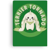 Terrier Tornado Canvas Print