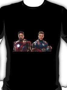 Iron Man and Captain America  T-Shirt