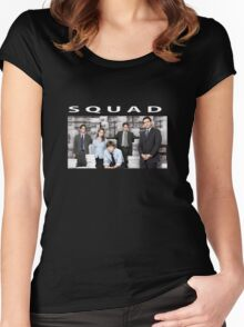 "The Office ""Squad"" Shirt Women's Fitted Scoop T-Shirt"