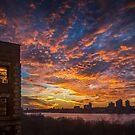 Manhattan Sunset by alan shapiro