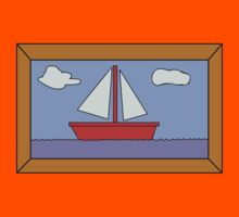 Sail Boat Artwork by d3mentia