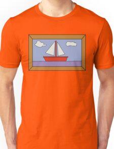 Sail Boat Artwork Unisex T-Shirt