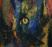 Blue Cat by Michael Creese