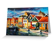 Sea Front — Buy Now Link - www.etsy.com/listing/157756896 Greeting Card