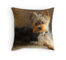 Just Relaxing... Throw Pillow