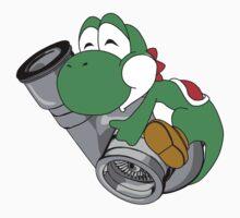 Turbo Yoshi by TswizzleEG