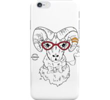 Hipster Goat iPhone Case/Skin