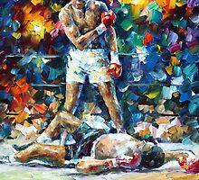 Muhammad Ali — Buy Now Link - www.etsy.com/listing/157767357 by Leonid  Afremov