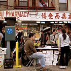 Chinatown Merchants and Tourists by karolina