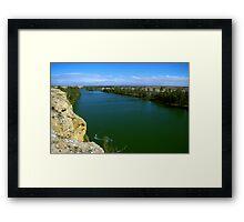 The Murray River Framed Print