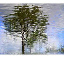 Rippled Reflection Photographic Print