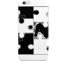 Fill in Puzzle iPhone Case/Skin