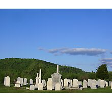 Country Cemetary Photographic Print