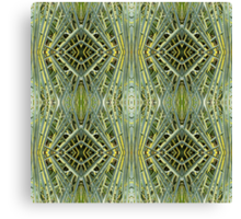 Tesselated nature Canvas Print