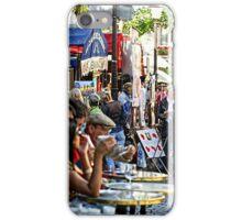Montmartre café, Paris iPhone Case/Skin