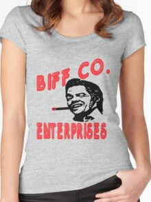 """""""He's a butthead just like his old man was"""" Women's Fitted Scoop T-Shirt"""