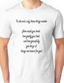 Intheend Unisex T-Shirt