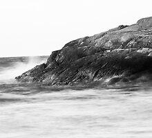 The rough waters of Juan de Fuca Straits by Jamie Lamb