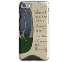 hunger games hanging tree  iPhone Case/Skin